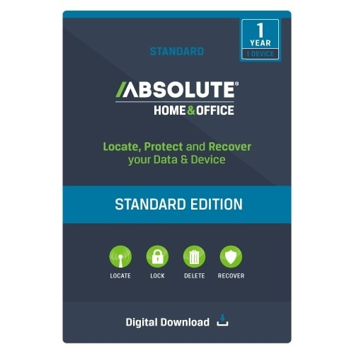 Absolute Software Home and Office Standard 1YR Subscription