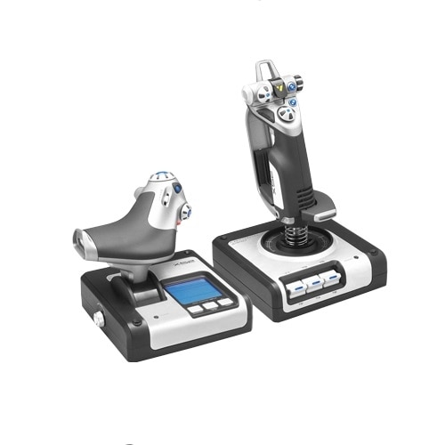 ThrustMaster T 16000M FCS Flight Pack - Joystick, throttle and