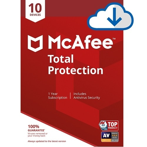 Download McAfee Total Protection 10 Device