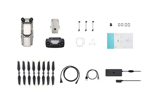 DJI Mavic Pro Platinum Fly More Combo - Quadcopter - Wi-Fi