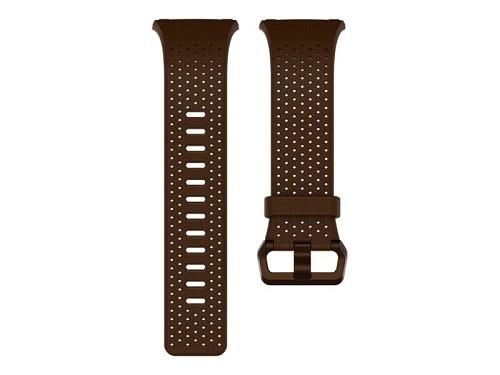 Fitbit Leather Band Watch Strap Large Cognac for Fitbit Ionic