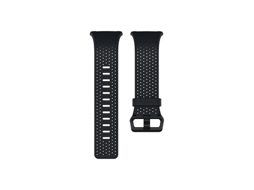 Fitbit Sport Band Watch Strap Large Black & Xharcoal for Fitbit Ionic