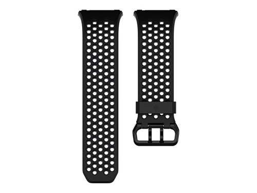 Fitbit Sport Band Watch Strap Small Black & Charcoal for Fitbit Ionic