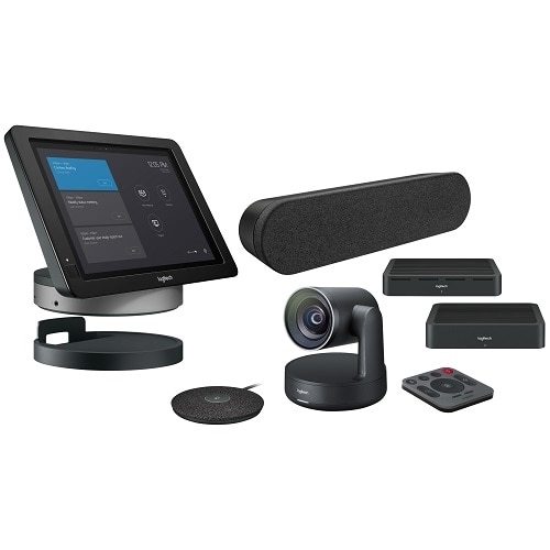 Logitech Smartdock Rally Solution With Flex For Larger Room Package For  Skype Room