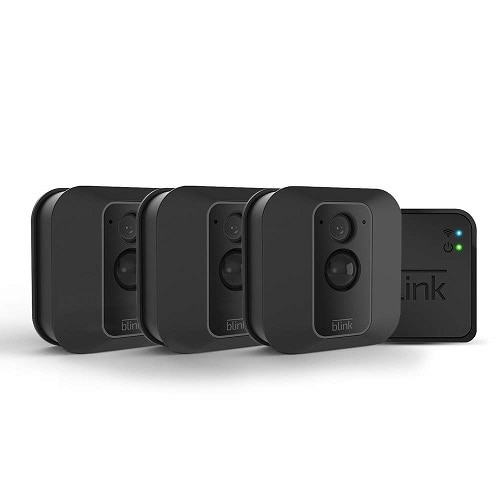 Blink XT2 - 3-Camera System - home security system - wireless - 802.11n - Black