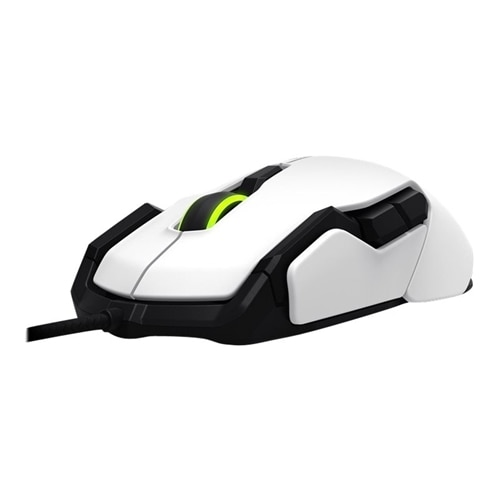 ROCCAT KOVA – Mouse – right and left-handed – optical – 12 buttons – wired – USB – white
