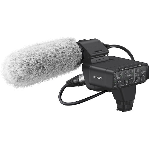 Sony XLR-K3M – Microphone – for Cyber-shot DSC-RX10; α6400; α7 II; α7 III; α7R; α7R II; α7R III; α7R IV; α7s II; α9