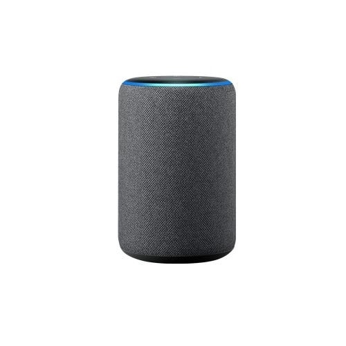 Amazon Echo – 3rd Generation – smart speaker – Bluetooth, Wi-Fi – 2-way – charcoal