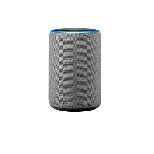 Amazon Echo – 3rd Generation – smart speaker – Bluetooth, Wi-Fi – 2-way – heather gray
