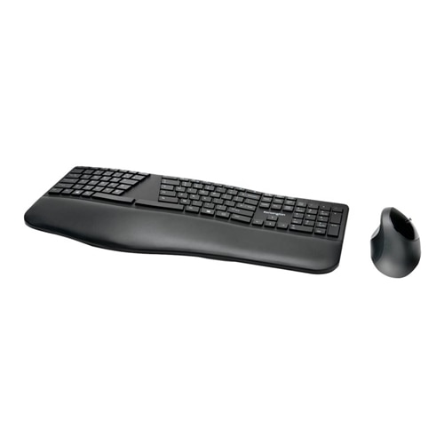 Kensington Pro Fit Ergo Wireless Keyboard And Mouse Keyboard And Mouse Set Us Black Dell Usa