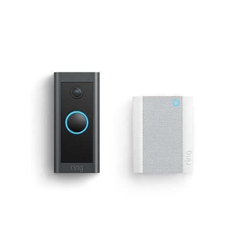 Ring Video Doorbell Wired + Chime