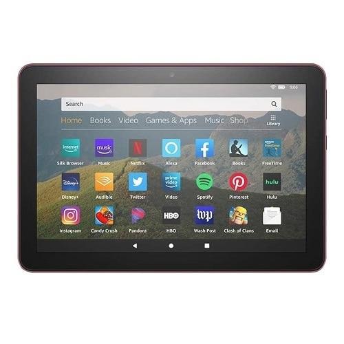 "Amazon Fire HD 8 10th Generation - 8"" - Tablet - 32GB - Plum"