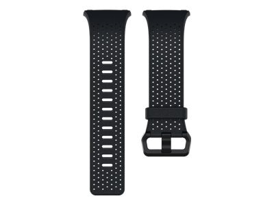 Fitbit Leather Band - Watch strap - Large - midnight blue - for Fitbit Ionic