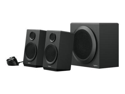 Logitech Z333 2.1 Speakers - Speaker system - for PC - 2.1-channel - 40-watt (total)