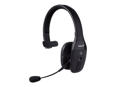 Poly Plantronics M70 Headset Ear Bud Over The Ear Mount Bluetooth Wireless Black White Band Dell Usa