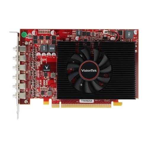 VisionTek Radeon HD 7750 - Carte graphique - Radeon HD 7750 - 2 Go GDDR5 - PCIe 3.0 x16 - 6 x Mini DisplayPort