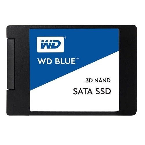 "WD Blue 3D NAND SATA SSD WDS500G2B0A - 500 Go - interne - 2.5"" - SATA 6Gb/s"