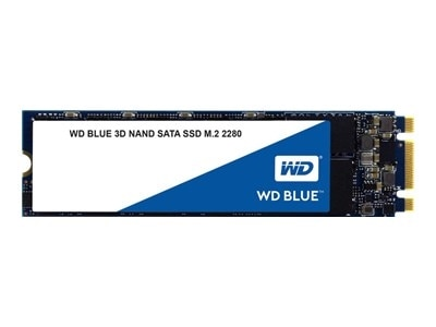 The WD Blue 3D NAND SATA SSD utilizes Western Digital 3D NAND technology for big capacities with enhanced reliability.