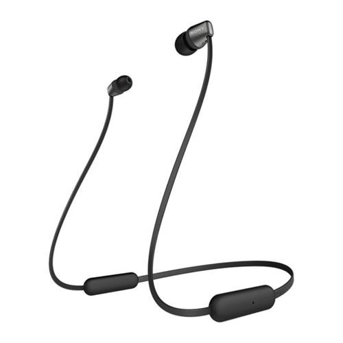 Sony WI-C310 - Écouteurs avec micro - intra-auriculaire - Bluetooth - sans fil - noir