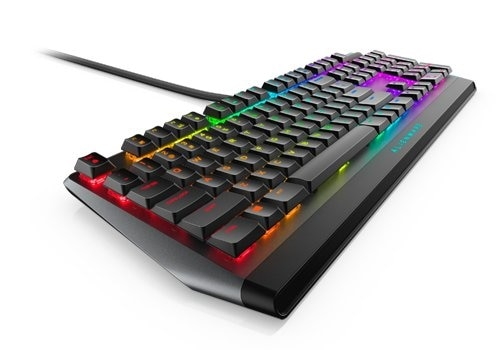 Clavier de gaming mécanique RVB extra plat Alienware | AW510K US Int (QWERTY)