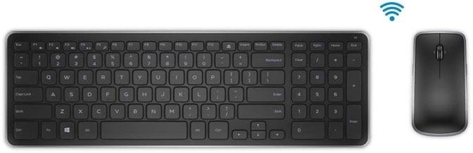 Dell Wireless Keyboard And Mouse Km714 Uk Irish Pc Accessories