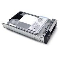 Dell 1.6TB SSD SAS Kombinované Použití 12Gb/s 512e 2.5palcový Připojitelná Za Provozu Jednotka 3.5palcový Hybridní Nosič AG