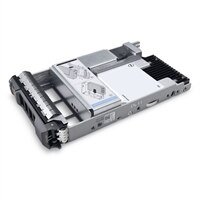 Dell 960GB SSD SAS Nárocné ctení 12Gb/s 512e 2.5palcový Jednotka v 3.5palcový Hybridní Nosic PM5-R
