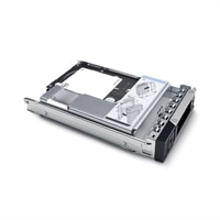 Dell 960GB SSD vSAS Náročné čtení 12Gb/s 512e 2.5palcový Připojitelná Za Provozu s 3.5palcový Hybridní Nosič RM5-R