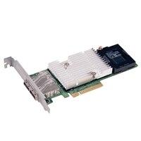 Řadič Integrated RAID PERC H810 1 GB cache, pro externí JBOD, plná výška