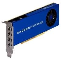 Radeon Pro WX 4100, 4GB, 4 DP, polovičná výška