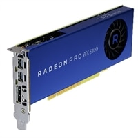 Grafická karta, Radeon Pro WX 3100, 4GB, DP. 2 mDP, (Precision 3420)