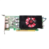 AMD Radeon RX 550, 4GB, Nízkoprofilový (DP/mDP/mDP)