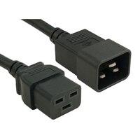 C20 až C21, PDU Style, 250 V, 16 AMP, 0.5 metry, napájecí kabel