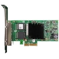 Dell Intel Ethernet I350 Ctyrportový 1 Gigabitový serverový adaptér síte, karta sítového rozhraní PCIe celú výšku