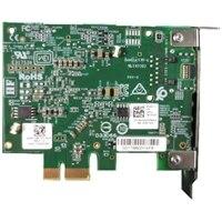 Dell 1-port 5G/2.5GBase-T serverový adaptér sítě Ethernet, karta síťového rozhraní PCIe (polovičná výška)