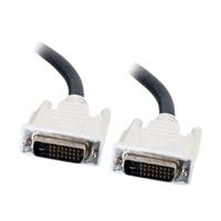 C2G - Kabel DVI - dva spoje - DVI-D (M) - DVI-D (M) - 2 m (6.56 ft)