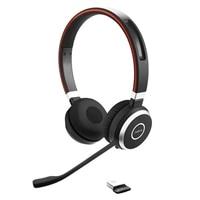 Jabra Evolve 65 MS stereo - Náhlavní souprava - náhlavní - Bluetooth - bezdrátový - NFC - USB