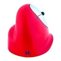 R-Go HE Sport Myš - ergonomická - pro praváky - 5 tlačítek - bezdrátová - Bluetooth – červená