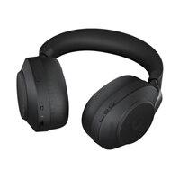Jabra Evolve2 85 MS Stereo - Náhlavní souprava - plná velikost - Bluetooth - bezdrátový, kabelové - odstranění šumu - 3.5 mm jack - izolace zvuku - černá