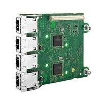 Dell Fire porte 1 Gigabit Broadcom 5720 -netværksdaughterkort, Cuskit
