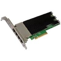 Dell Intel X710 Fire porte 10 Base-T Server Adapter Ethernet PCIe-netværkskort fuld højde