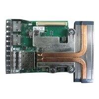 Dell Intel X710 Dual porte 10 Gigabit DA/SFP+, + I350 DP 1 Gigabit Ethernet netværksdaughterkort