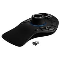 3Dconnexion SpaceMouse Pro Wireless - 3D-mus - 15 knapper - trådløs - 2.4 GHz - trådløs modtager (USB)