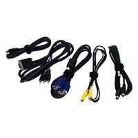 Ersatzkabel für Dell Projektor M110/M115HD (VGA, Composite, S-Video, HDMI, Audio und USB)