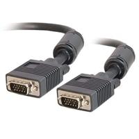 C2G - VGA Kabel (Stecker)/(Stecker) - Schwarz - 1m