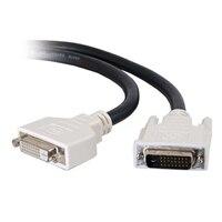 C2G - DVI-D Dual Link Verlängerungskabel (Stecker)/(Buchsen) - Schwarz - 3m