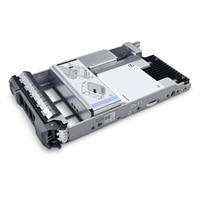Dell 800GB SSD SAS Μεικτή χρήση 12Gbps 512e 2.5ίντσες δίσκου με δυνατότητα σύνδεσης εν ώρα λειτουργίας δίσκων 3.5ίντσες Υβριδική θήκη AG