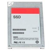 Dell 3.84TB SSD αξία SAS Μεικτή χρήση 12Gbps 512e 2.5ίντσες δίσκων σε 3.5ίντσες Υβριδική θήκη