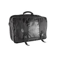 μαύρη τσάντα μεταφοράς από νάιλον με άνοιγμα από πάνω για φορητούς υπολογιστές 43cm (17'')