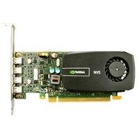 γραφικών : 2 GB NVIDIA Quadro NVS 510 (4mDP) (4mDP-DP προσαρμογέα) (QMGA3) για Precision T7600/T1650 /T3600 /T5600